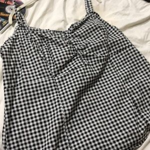 Torrid Fitted Gingham top